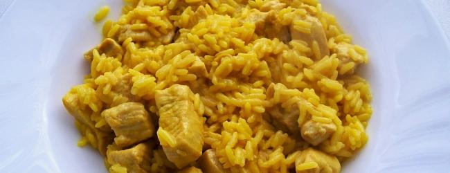 Pollo al curry receta fácil
