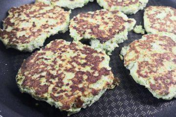 Hamburguesa de Pollo y Brocoli