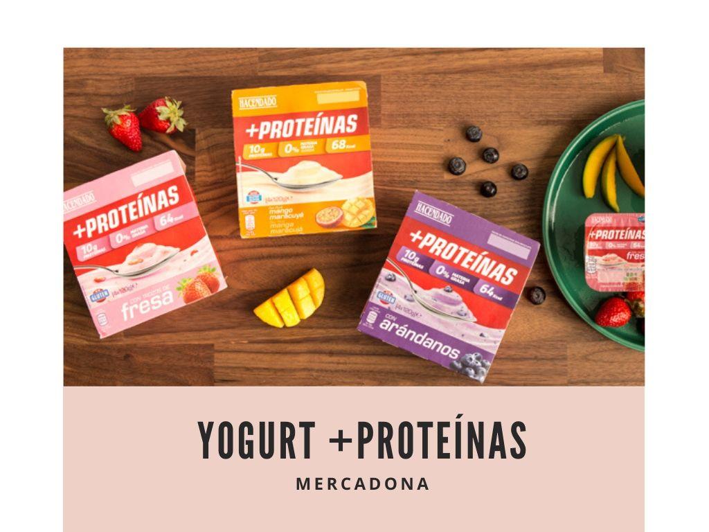 Yogurt proteinas mercadona