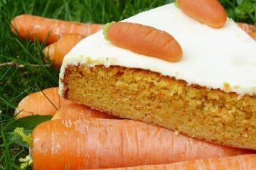 carrot cake fit receta